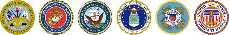 US Armed Forces Logos